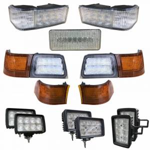 Electrical Components - LED Lights - Tiger Lights - CaseKit8 - Complete LED Light Kit for Case/IH MX Tractors