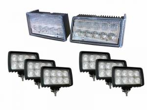Tiger Lights - CaseKit9 - Complete LED Light Kit for Case/IH Maxxum Tractors
