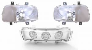 Electrical Components - LED Lights - Tiger Lights - CaseKit11 - LED Headlight Kit for Newer Case/IH Magnum Tractors