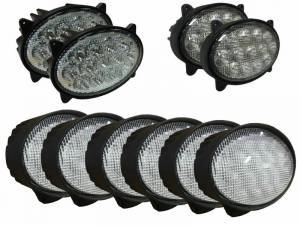 Electrical Components - LED Lights - Tiger Lights - JDKit2 - LED Light Kit for John Deere 20 Series Tractors