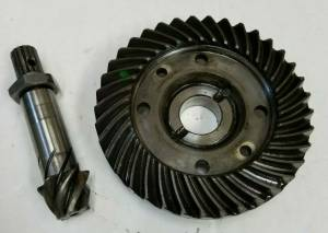 Rear Axle & Differential Components - Farmland Tractor - 66711-82810 - Kubota RING & PINION 6-37T, Used
