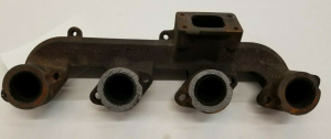 Engine Components - Manifolds and Parts - Farmland Tractor - R133954 - Exhaust Manifold