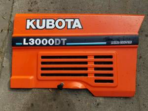 Used Parts - Used Body Parts - Farmland - TC020-18630 - Kubota RH PANEL, Used