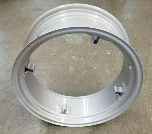 Wheels Hubs & Components - Rims & Tires - Farmland - F1NN1020AA - New Holland 4WD FRONT RIM, 24 x 10 x 4