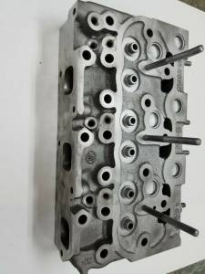 Engine Components - Cylinder Heads and Parts - Farmland Tractor - 16705-03040 - Kubota D1402DI CYLINDER HEAD, Used