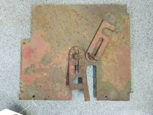 Body Parts - Farmland - 3125857R1 - Case/IH RH REAR VERTICAL PANEL, Used