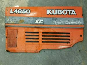 Used Parts - Used Body Parts - Farmland Tractor - 32539-18646 - Kubota LH BONNET, Used