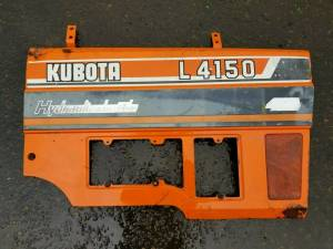Used Parts - Used Body Parts - Farmland Tractor - 32530-18630 - Kubota RH PANEL PLATE, Used