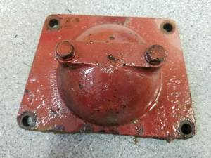 Clutch Transmission & PTO - Farmland Tractor - Farmall BELT PULLEY DELETE COVER, Used