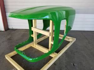 Body Parts - Farmland - AL163461 - For John Deere HOOD