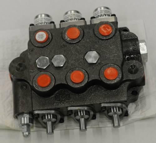 Hydraulics - Control Valve - Farmland - SBA222 - For John Deere UNIVERSAL TRIPLE SPOOL CONTROL VALVE 2000 PSI CLOSED CENTER