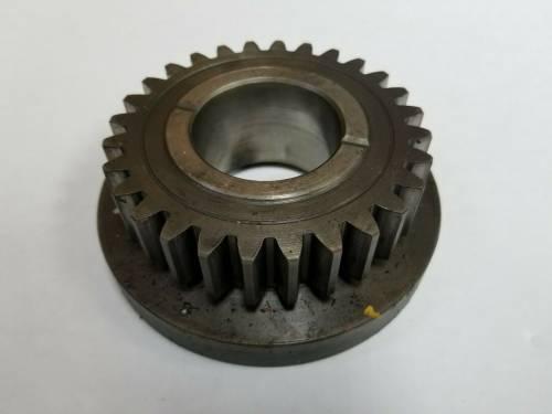 Clutch Transmission & PTO - PTO Gear - Farmland Tractor - K942671 - Case, David Brown HIGH GEAR, 28 TEETH, Used
