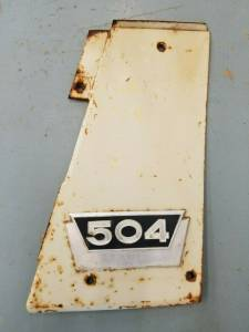 Used Parts - Used Body Parts - Farmland Tractor - 376793L11 - International LH PANEL ASSEMBLY, Used