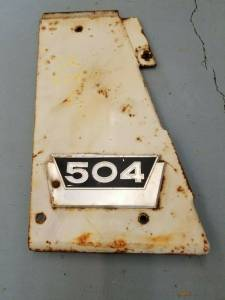 Used Parts - Used Body Parts - Farmland Tractor - 376793R11 - International RH PANEL ASSEMBLY, Used
