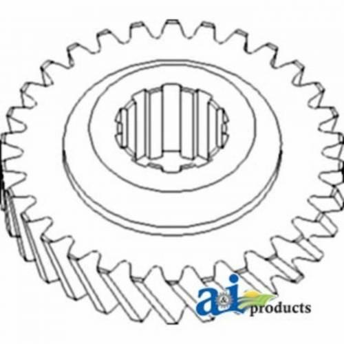 Engine Components - Idler Gears - Farmland - 70225413 - Allis Chalmers MAIN SHAFT 3RD GEAR