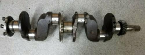 Engine Components - Crankshafts - Farmland Tractor - E2JL6300BA - Ford 172D CRANKSHAFT, Used