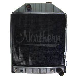Cooling System Components - Oil Coolers - NR - 233817A1 - Case/IH OIL COOLER