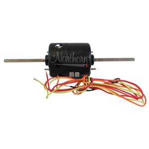 A/C Components - Blower Motors and Fans - Combines - 35594 - For John Deere, AGCO/Allis Chalmers, Case/IH, Ford New Holland, Hesston, International, Massey Ferguson, Versatile, White BLOWER MOTOR