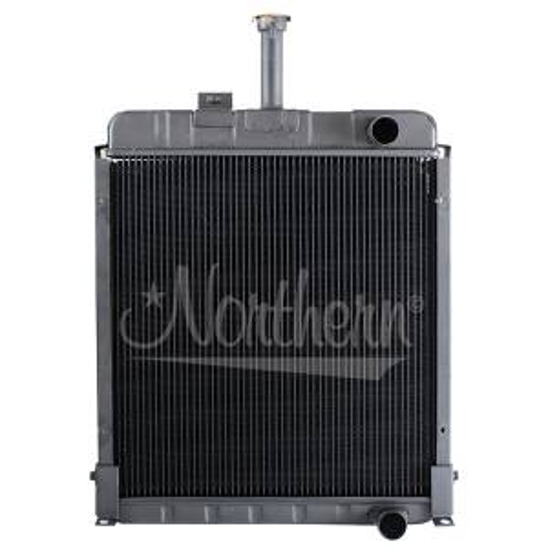 Cooling System Components - Radiators - Farmland - 1536373C1-Case/IH RADIATOR