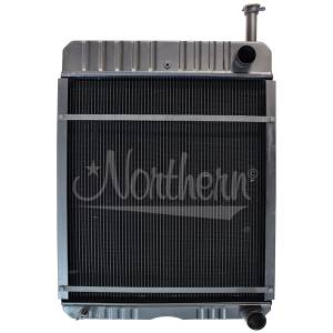 Cooling System Components - Radiators - NR - 104594C2-International RADIATOR