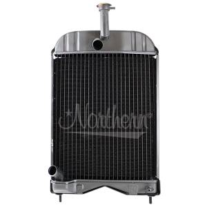 Cooling System Components - Radiators - NR - 1660655M92-Massey Ferguson RADIATOR