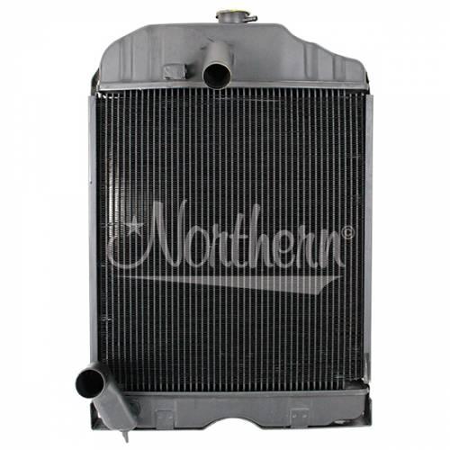 Cooling System Components - Radiators - Farmland - 180291M1-Massey Ferguson RADIATOR