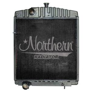 Cooling System Components - NR - A184365- Case/IH RADIATOR