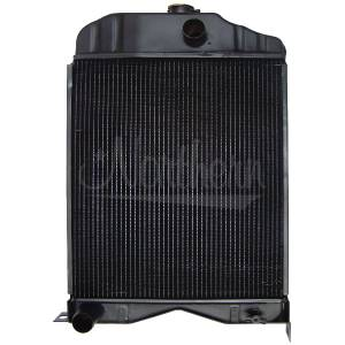 Cooling System Components - Radiators - Farmland - 186733M91-Massey Ferguson RADIATOR
