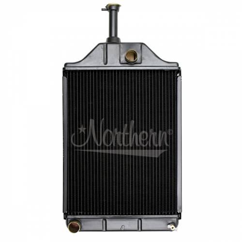 Cooling System Components - Radiators - Farmland - 1680599M92-Massey Ferguson RADIATOR