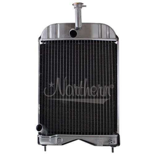 Cooling System Components - Radiators - Farmland - 1660655M92-Massey Ferguson RADIATOR
