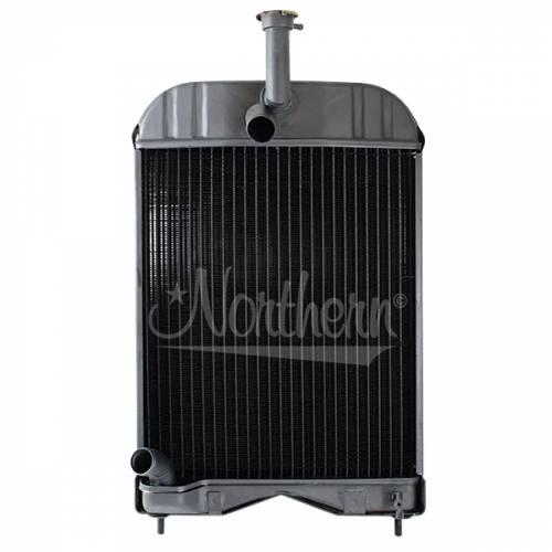 Cooling System Components - Radiators - Farmland - 1680547M92-Massey Ferguson RADIATOR